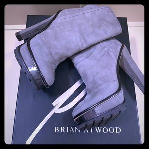 Brian Atwood heeled boots 7.5 M